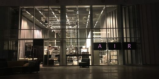 Air Lab front by night